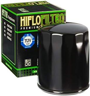 Motodak Filtre /à Huile hiflofiltro hf170b Noir Harley Davidson