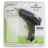 Surebonder DT-200FKIT Mini Dual Temperature Hot Glue Gun with 12 Glue Sticks, 20W, 120V