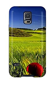 New Tpu Hard Case Premium Galaxy S5 Skin Case Cover(eye Catching Natures)