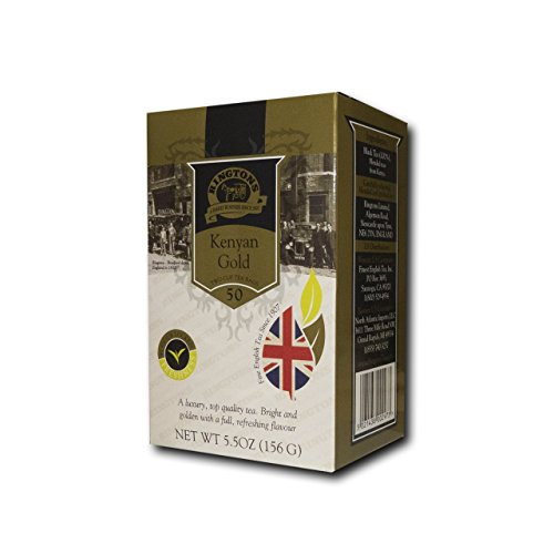 Ringtons Tea, Kenyan Gold, 50 Black Tea Bags