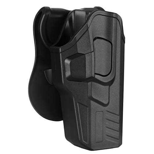 Bedone OWB Paddle Holster Fits Glock 17 22 31(Gen 1, 2, 3, 4, 5) Polymer Holster Styles