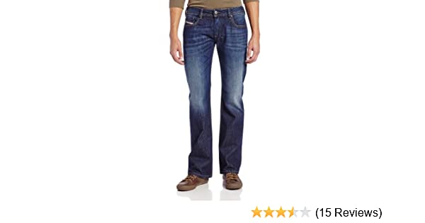 e2ad460e Amazon.com: Diesel Men's Zatiny Slim-Micro Bootcut-Leg Jean 0823G: Clothing