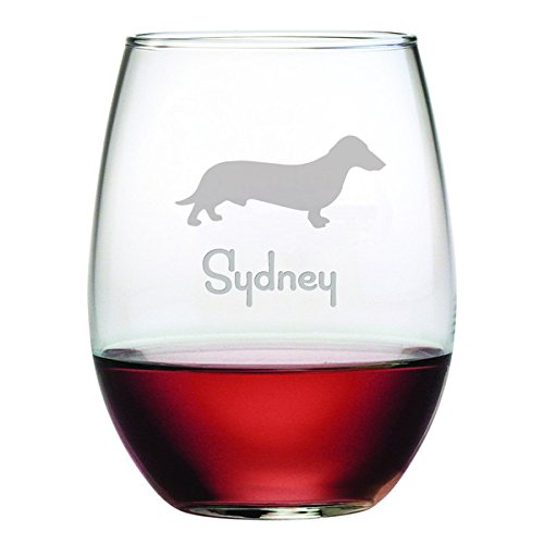 Dog Breed Wine Glass - 9