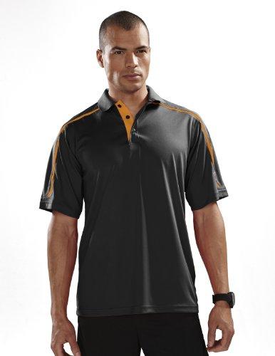Tri-mountain Mens 100% Polyester UC Knit Polo Shirt
