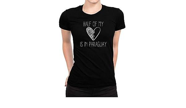 I Love Heart Paraguay Ladies T-Shirt