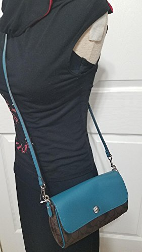 Bag Reversable Signature New With Crossbody Coach Tags F59534 Sling Signature w6v1UqTX