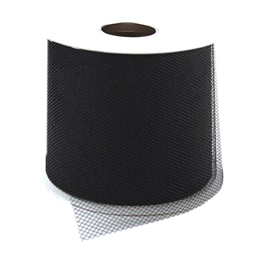 Nylon Mesh Material - Falk RT 4000-14752 Diamond Net Mesh Spool, 3-Inch by 25-Yard, Black