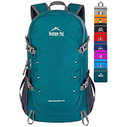 Venture Pal 40L Lightweight Packable Travel Hiking...