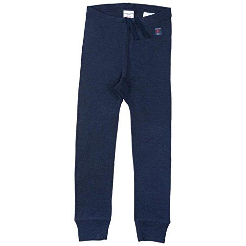 Polarn O. Pyret Merino Wool Long Johns (2-6YRS) - Dark Sapphire/4-6 (Merino Long Johns)