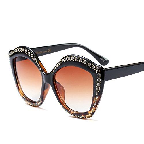 Lip Shape Diamond Sunglasses Women Brand Designer Luxury Crystal Sun - Men Glasses Shaped Face Diamond For