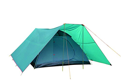NTK SAVANNAH GT 5 to 6 Person 9.8 by 9.8 Foot Outdoor Dome Family Camping Tent 100% Waterproof 2500mm, Easy Assembly, Durable Fabric Full Coverage Versatile Rainfly – Micro Mosquito Mesh.
