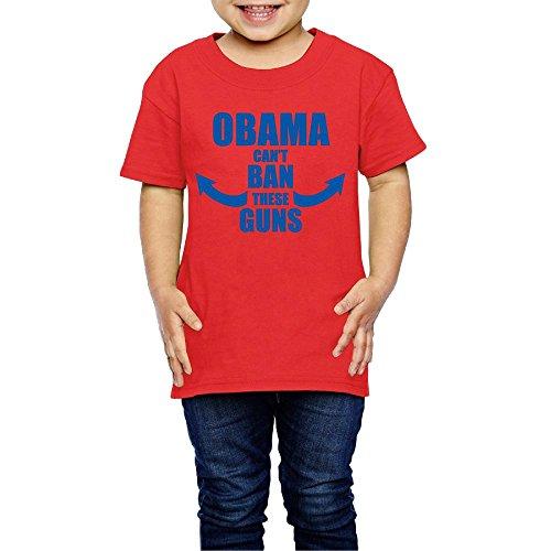 TangChuan Toddler Obama Can't Ban These Guns Funny T-Shirt
