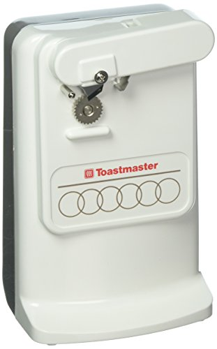 Toastmaster 498002 220-240 Volt 50 Hz Can Opener with Knife Sharpener - To Use Outside North America