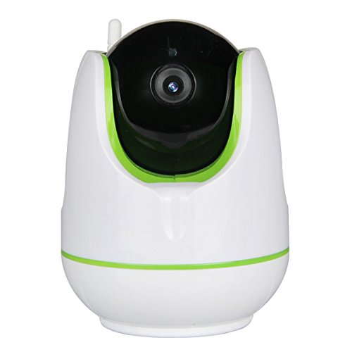 720p HD WiFi IP IR Security Camera 2-Way Audio Connects Wired or Wirelessly