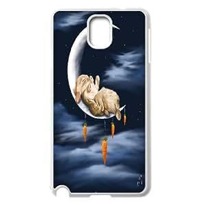 Rabbit Cartoon Art Design Pattern Hard Case Cover for Samsung Galaxy Case Note 3 TSL164473