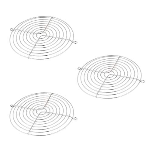 ZXHAO 3pcs Axial 150x170mm CPU Cooling Fan Grill Metal Wire Finger Guards