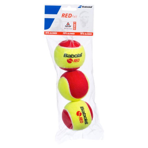 BABOLAT B501036 Play And Stay Red Felt 3 Pack Tennis for sale  Delivered anywhere in USA