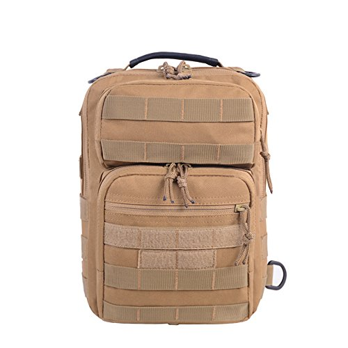 Hombro para Pecho Bolsa Military Mochilas Styhatbag Funda Tactical la de Sling Crossbody Trekking Camping Caza Pack Sling nzxU70gx