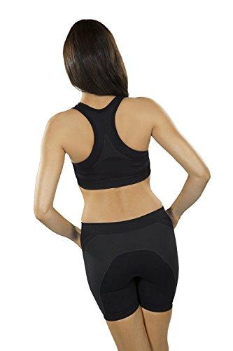 Seamless sujetador deportivo Fittech mujeres Fitness Yoga Pilates tapa de la cosecha Rosa - rosa