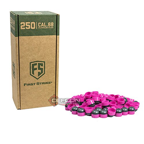 First Strike Paintballs (250 Count, Smoke/Pink Pink Fill) by First Strike
