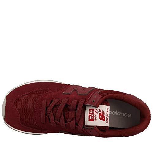 574v2 New Balance Red Men's Trainers zHwWX8qP