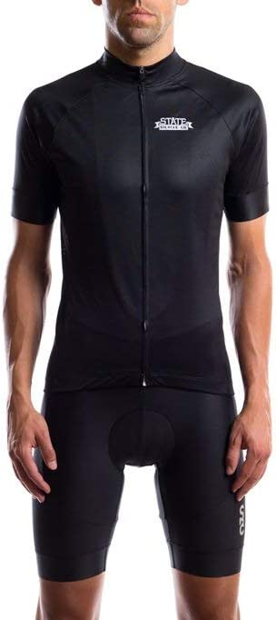 State Bicycle Co. - Black Label Jersey - Black - XS