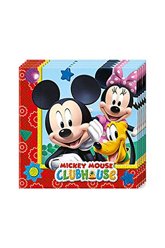 Mickey Mouse Clubhouse 20pc Party Napkins Paper