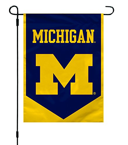 Fremont Die NCAA Michigan Wolverines Garden Flag, 12