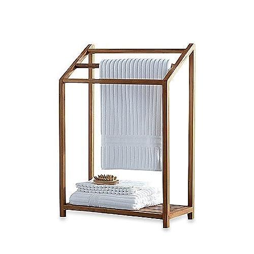 Teak Bath Shelf: Amazon.com