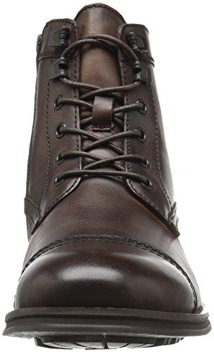Kenneth Cole New York Men's Design 104352 Combat Boot Dark Brown n8JRd