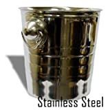 Coin Pail - Stainless Steel