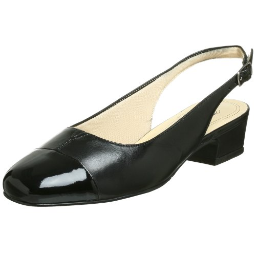 Slingback Pump,Black/Black,8.5 S US ()