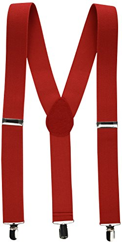 Amscan Suspenders, Party Accessory, Red -