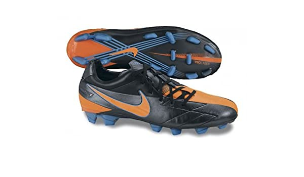 finest selection 4450c d46c2 Nike Men s T90 Laser IV Kanga-Lite Firm Ground Football Boots, Black, 12.5  AU  Amazon.com.au  Fashion