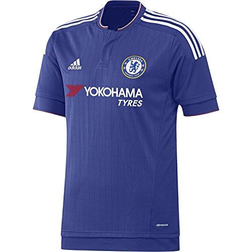 禁じる汚物ダイバーAdidas Chelsea Home Soccer Jersey 2015-2016/サッカーユニフォーム チェルシーFC ホーム用 背番号なし 2015