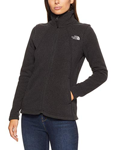 (The North Face Women's Crescent Full Zip TNF Black Heather X-Small )