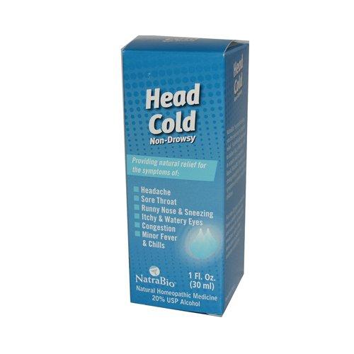 NatraBio Head Cold Non-Drowsy - 1 fl ()