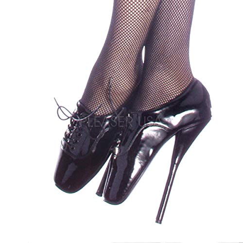 (Devious Women's Ballet 18 Pumps,Black,6)