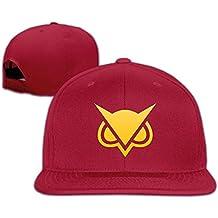 AAWODE Unisex Vanoss Gaming Golden Owl Adjustable Snapback Hip-hop Baseball Cap