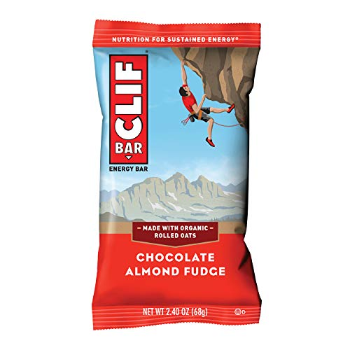 Clif Bar Energy Bar Apricot - CLIF BAR - Nutrition & Energy Bar - Chocolate Almond Fudge, 2.4 oz