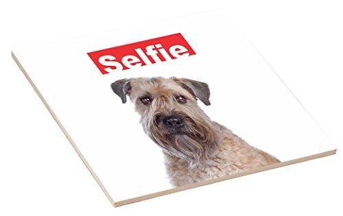 Rikki Knight Selfie Soft Coated Wheaten Terrier Dog Design 4.25