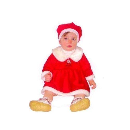 Weihnachtskleid für Kleinkinder 4 - 11 Monate Sandy