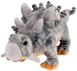 Wild Republic Stegosaurus Sequined Fill is Spun Recycled Water Bottles Plush Toy Gift for Kids 12 Inches