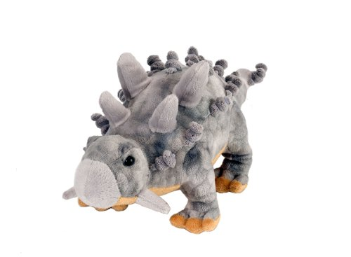 Wild Republic Ankylosaurus Plush, Dinosaur Stuffed Animal, Plush Toy, Gifts For Kids, Dinosauria 10 Inches