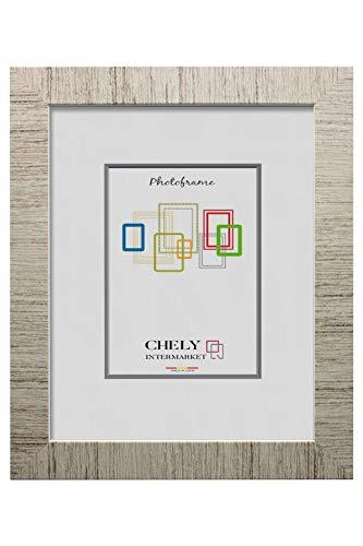 Chely Intermarket, Marco de Fotos 30x40cm MOD-231 (D34) | Estilo galeria | Moldura de Madera de Pino con Relieve | Decoracion del hogar | Fotografias de Boda | Listado de Precios (231-30x40-0,65)