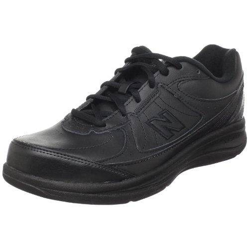 New Balance Men's MW577 Black Walking Shoe - 10.5 4E US