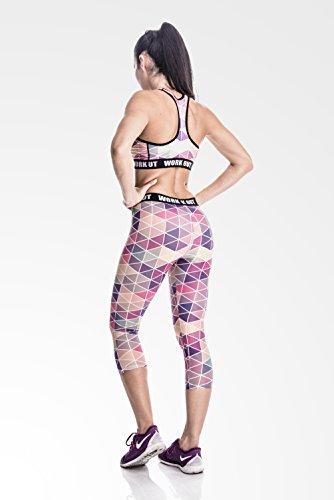 Fringoo - Sujetador deportivo - para mujer Pink Triangle - Bra