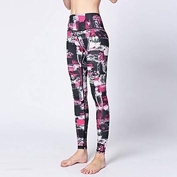 GSYJK Printed Yoga Pants Yoga Leggings Women Quick Dry ...