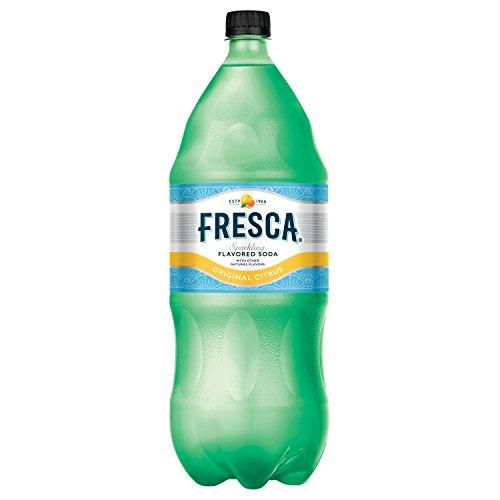 Fresca Original Citrus Soda Sparkling Flavored Soft Drink Zero Calorie and Sugar Free, 2 Liters from Fresca