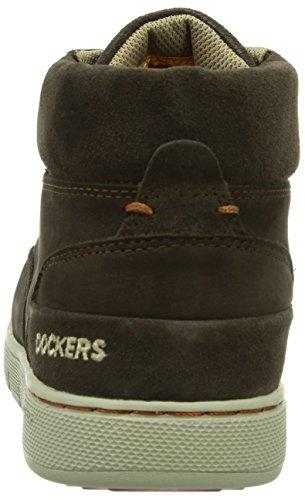 Dockers 352621-003020 - Zapatillas de estar por casa Hombre Cafe 020